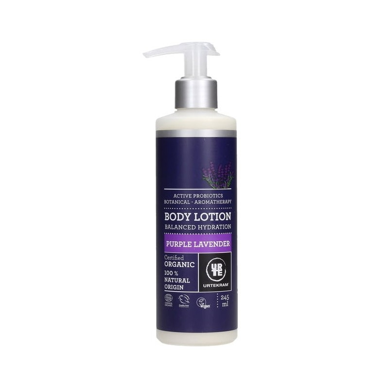 Urtekram Purple Lavender Body Lotion