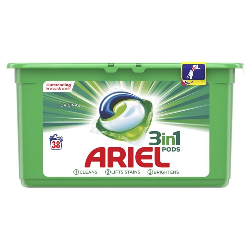 Ariel Ariel Pods 3-in-1 Regular Konetiskitabletti