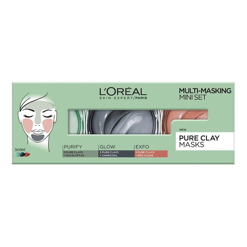 L'Oreal Multi-Masking Pure Clay Mini Set