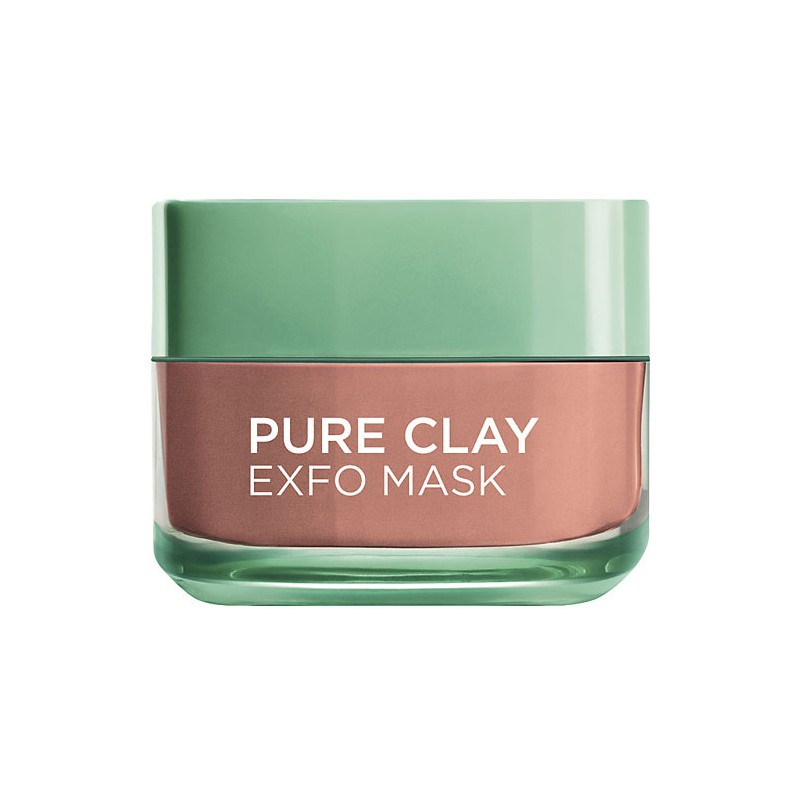 L'Oreal Pure Clay Exfoliate Mask