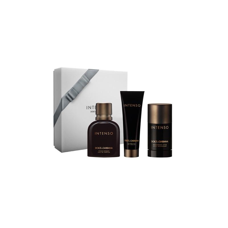 Dolce & Gabbana Intenso Pour Homme EDP & Deostick & Shower Gel