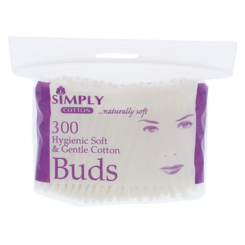 Simply Cotton Soft & Gentle Cotton Buds