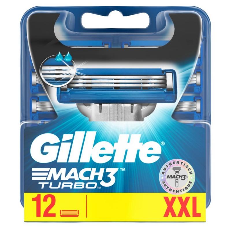Gillette Mach3 Turbo Razor Blades
