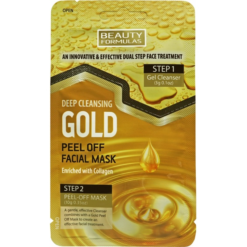 Beauty Formulas Deep Cleansing Gold Mask