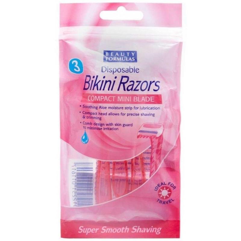 Beauty Formulas Disposable Bikini Razors