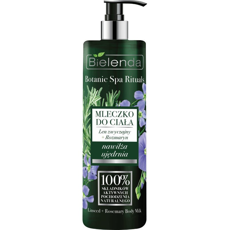 Bielenda Botanic Spa Rituals Linseed & Rosemary Body Milk