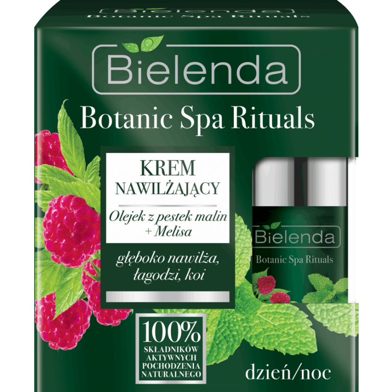 Bielenda Botanic Spa Rituals Raspberry & Lemon Face Cream