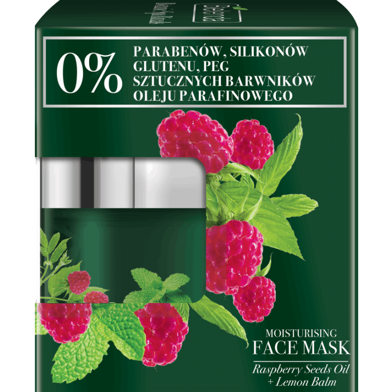 Bielenda Botanic Spa Rituals Raspberry & Lemon Face Mask
