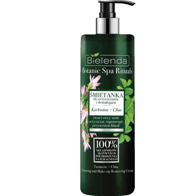 Bielenda Botanic Spa Rituals Turmeric & Chia Makeup Remover