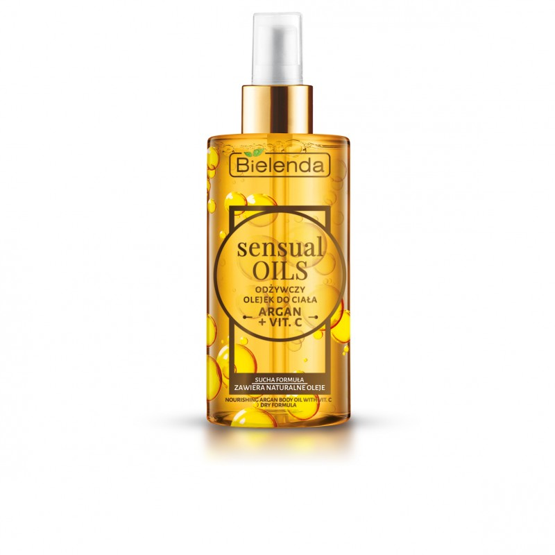 Bielenda Sensual Oils Argan & Vitamin C Body Oil