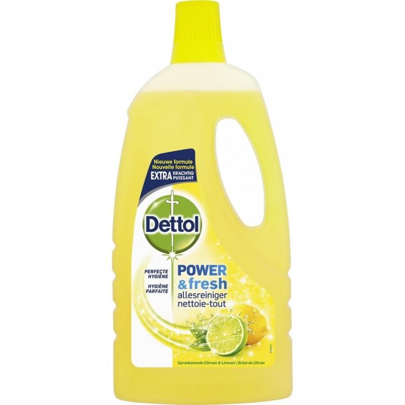 Dettol Multi-Purpose Power & Fresh Cleaner Lemon & Lime