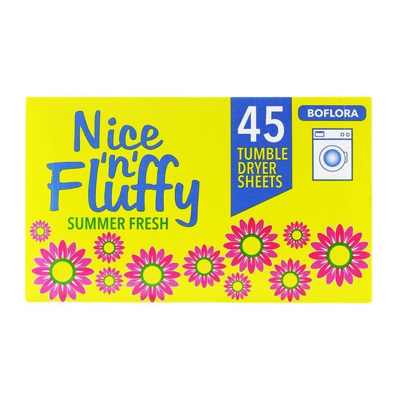 Boflora Boflora Nice 'n' Fluffy Tumble Dryer Sheets 45 kpl
