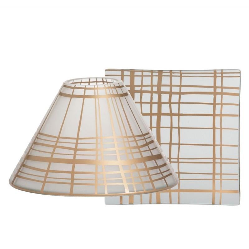 Yankee Candle Copper Elegance Large Shade & Tray Set
