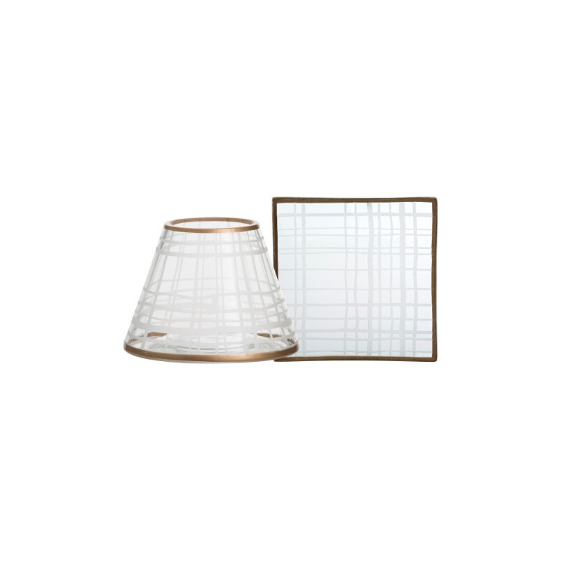 Yankee Candle Copper Elegance Small Shade & Tray Set