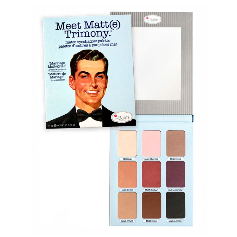 The Balm Meet Matt(e) Trimony Eyeshadow Palette