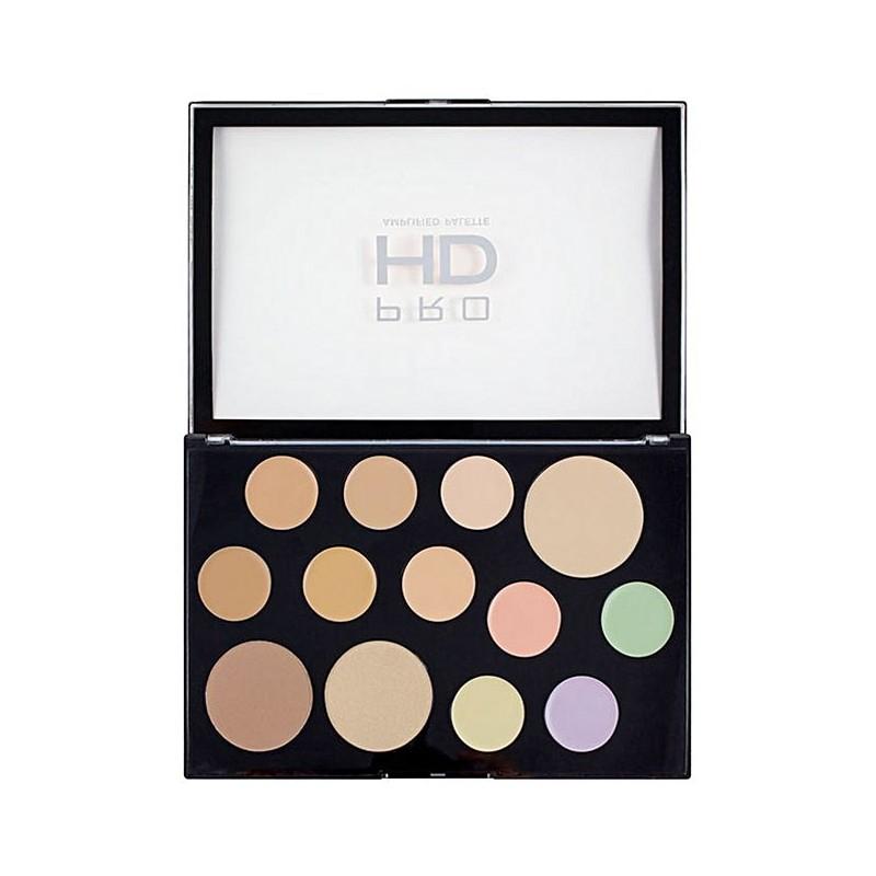 Revolution Makeup Pro HD The Works Concealer Palette Light Medium