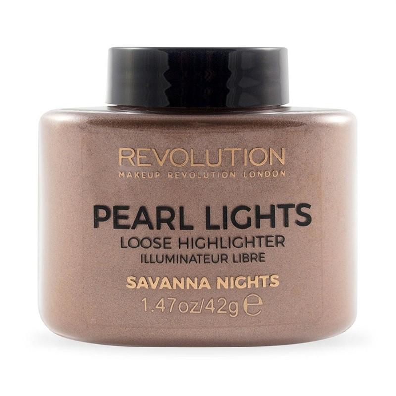 Revolution Makeup Pearl Lights Loose Highlighter Savanna Nights