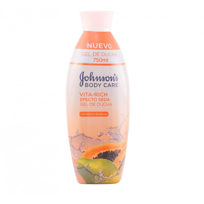 Johnson's Vita-Rich Papaya Silk Effect Shower Gel