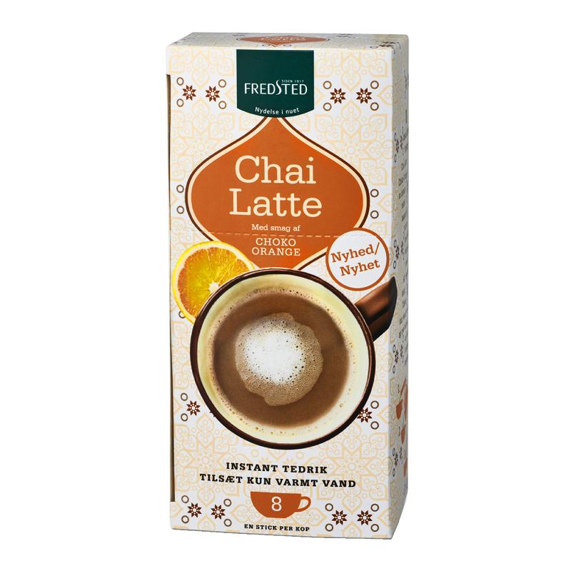 Fredsted Chai Latte Choko Orange
