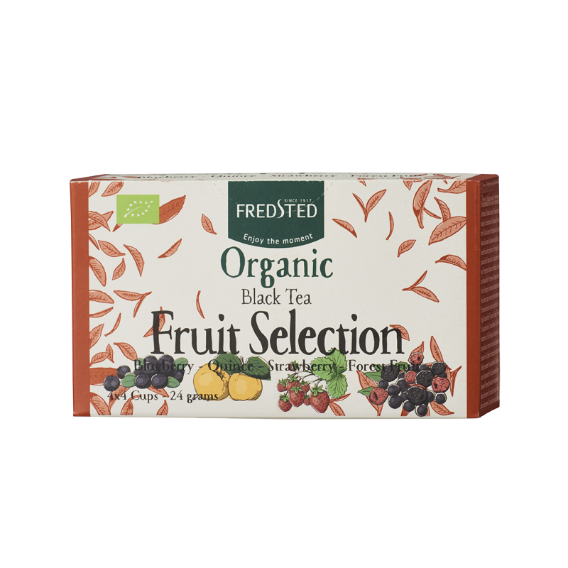 Fredsted Fredsted Organic Black Tea Fruit Selection 16 pussia