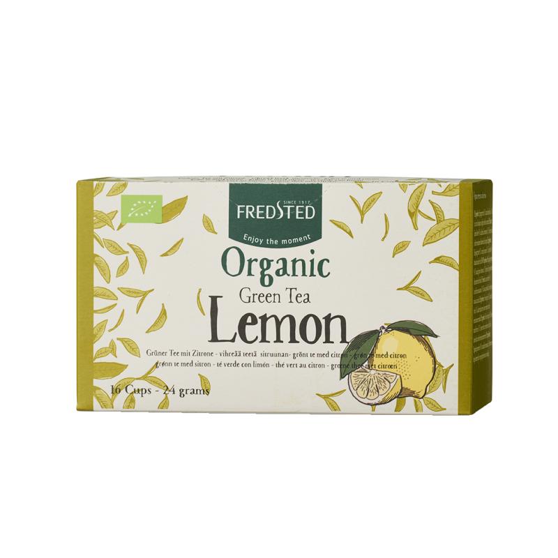 Fredsted Organic Green Tea Lemon