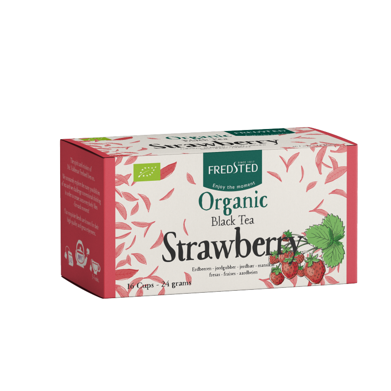 Fredsted Organic Black Tea Strawberry