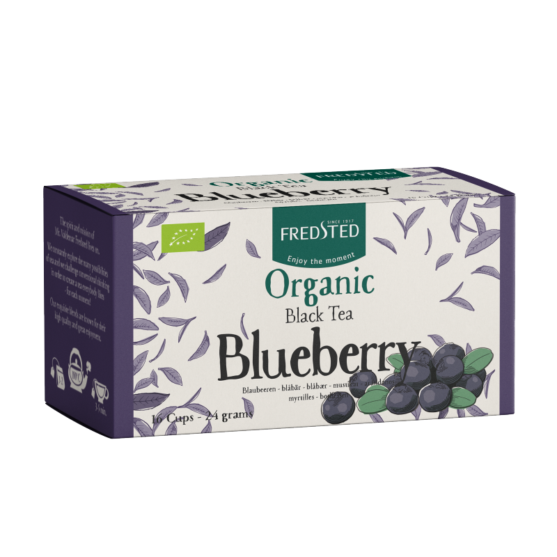 Fredsted Organic Black Tea Blueberry