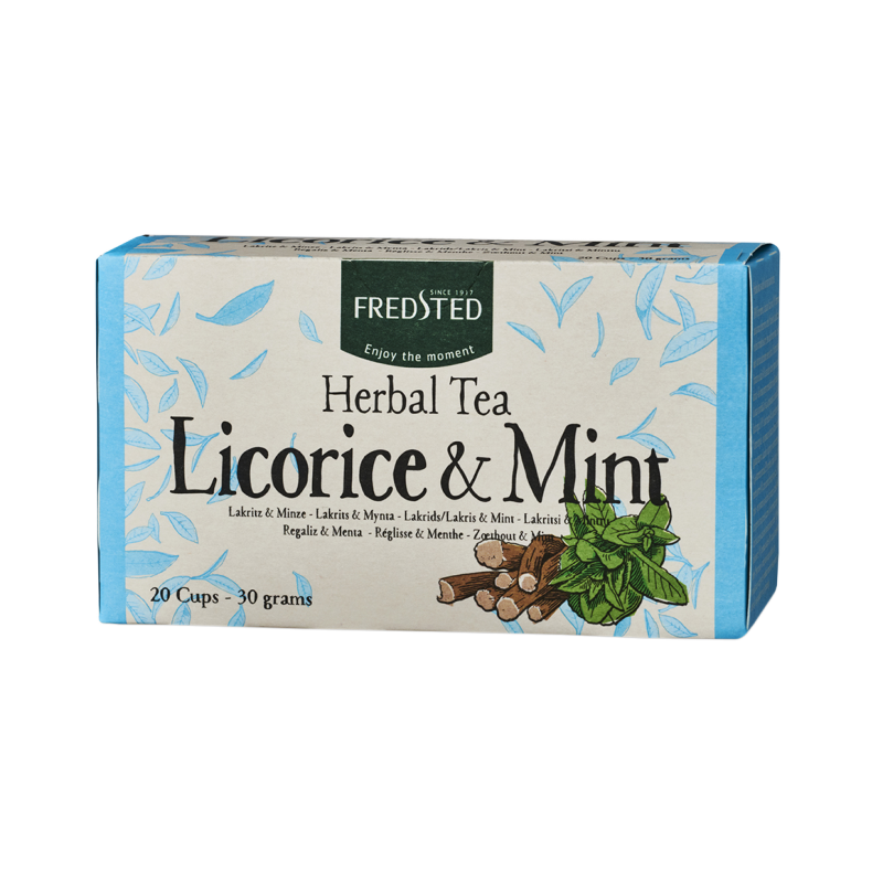 Fredsted Herbal Tea Licorice & Mint