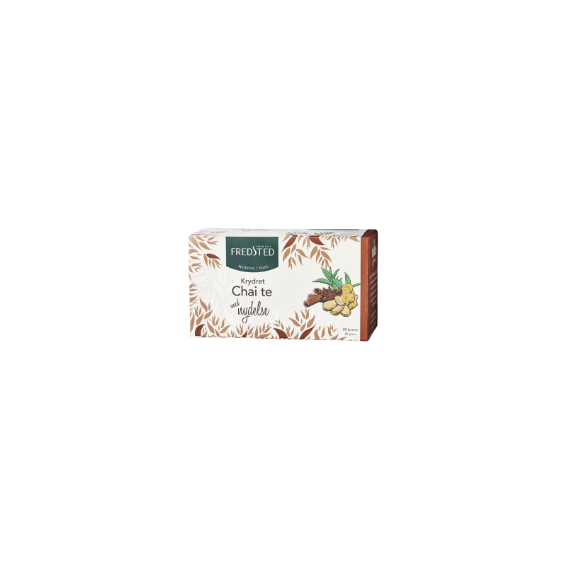Fredsted Fredsted Organic Black Tea Spicy Chai 20 pussia