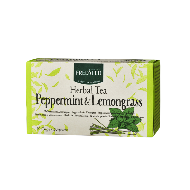 Fredsted Fredsted Herbal Tea Peppermint & Lemongrass 20 pussia