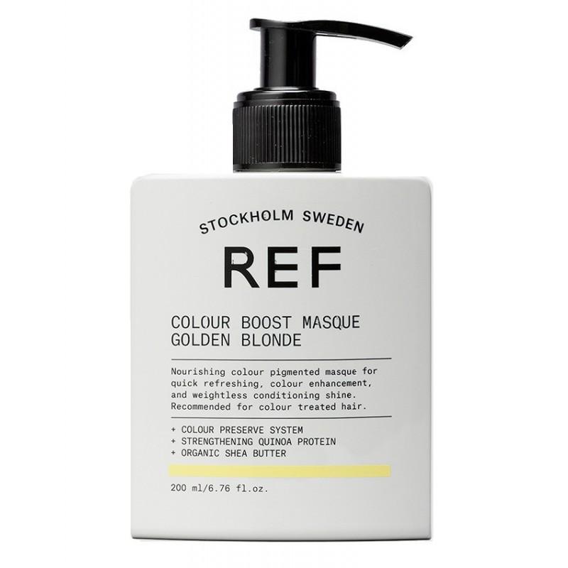 REF Colour Boost Masque Golden Blonde