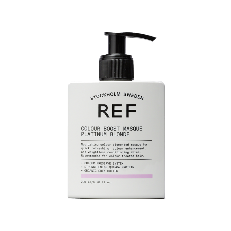 REF Colour Boost Masque Platinum Blonde