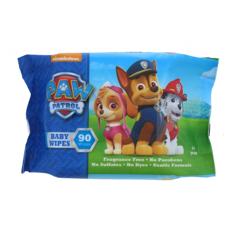 Nickelodeon Paw Patrol Baby Cleansing Wipes