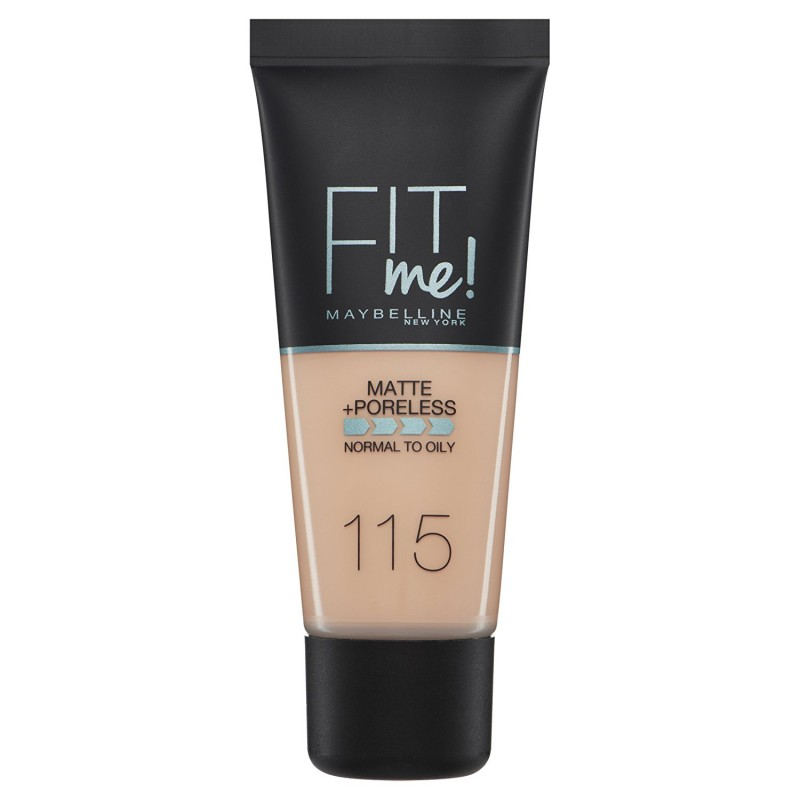 Maybelline Fit Me Matte & Poreless Foundation 115 Ivory