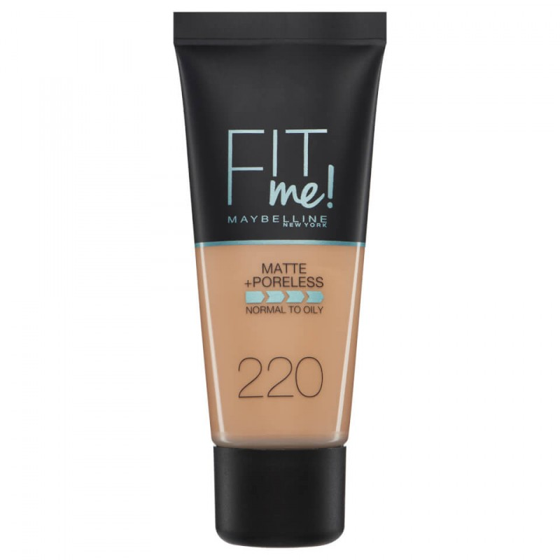 Maybelline Fit Me Matte & Poreless Foundation 220 Natural Beige