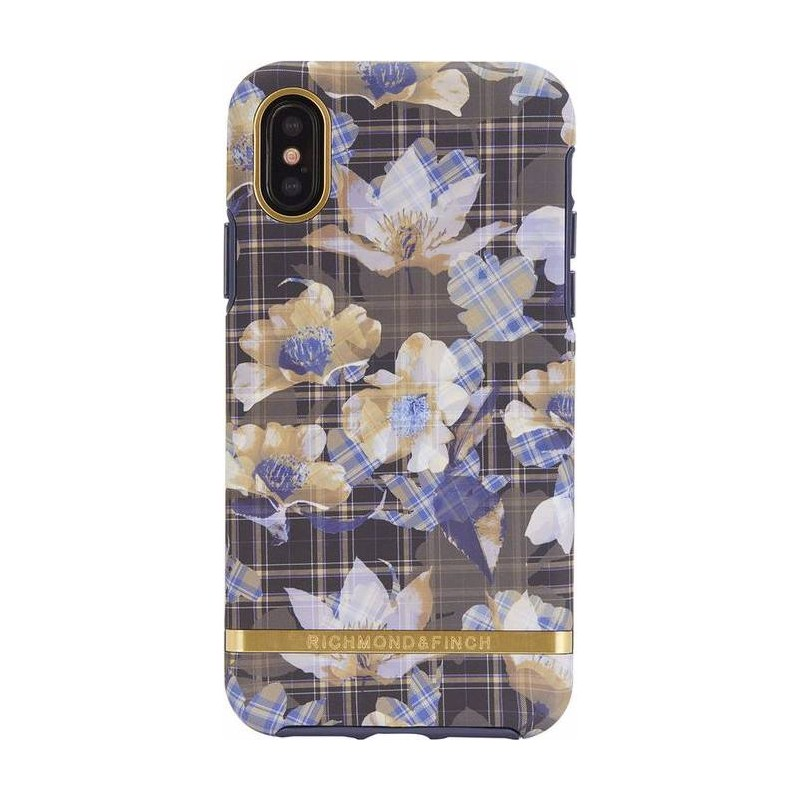 Richmond & Finch Floral Checked Iphone X Case