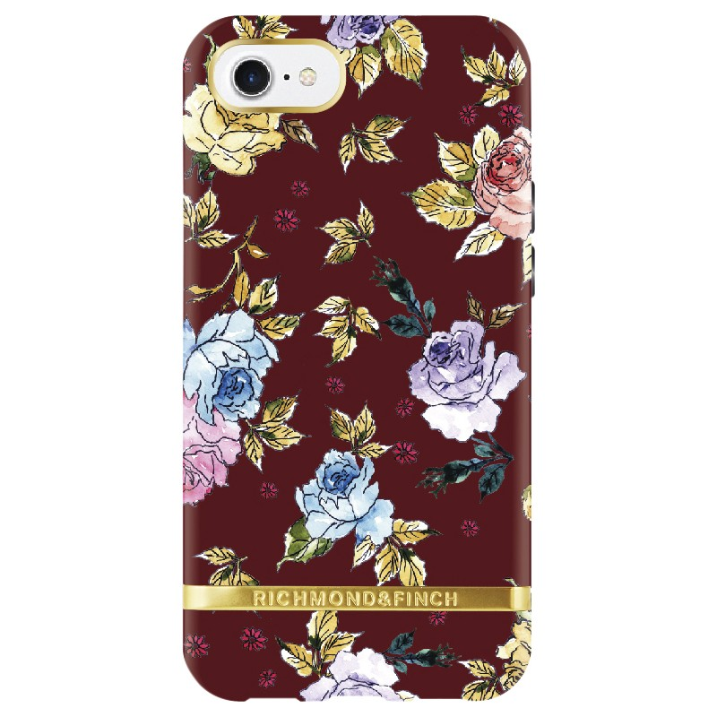 Richmond & Finch Red Floral iPhone 6/6S/7/8 Case