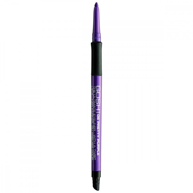 GOSH The Ultimate Eyeliner With A Twist 06 Pretty Purple