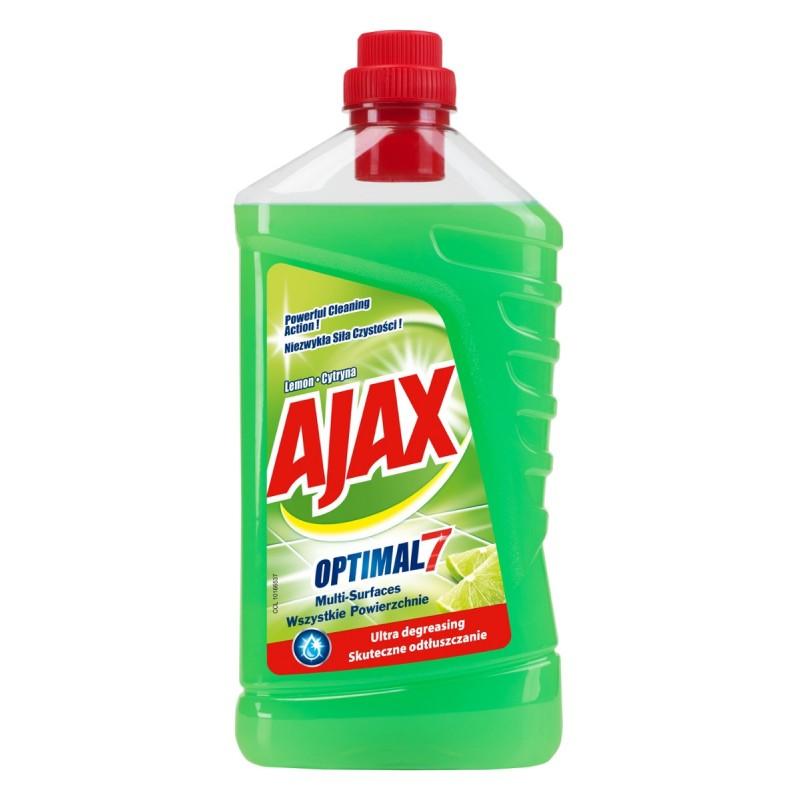 Ajax Optimal7 Yleispuhdistusaine Lemon
