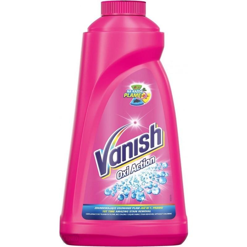 Vanish Oxi Action Pink Liquid Vlekkenverwijderaar