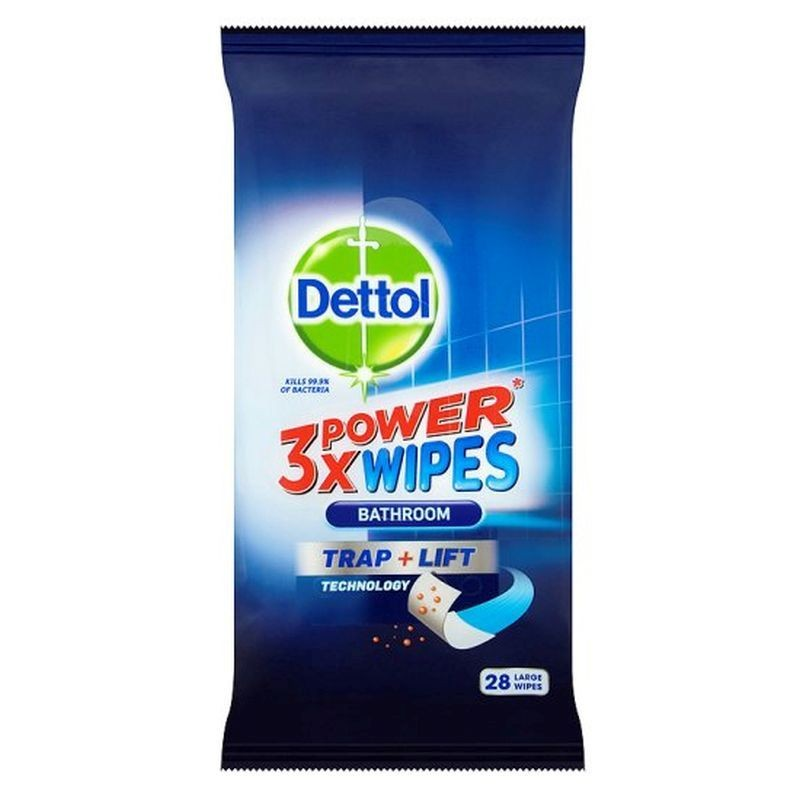 Dettol 3X Power Bathroom Wipes