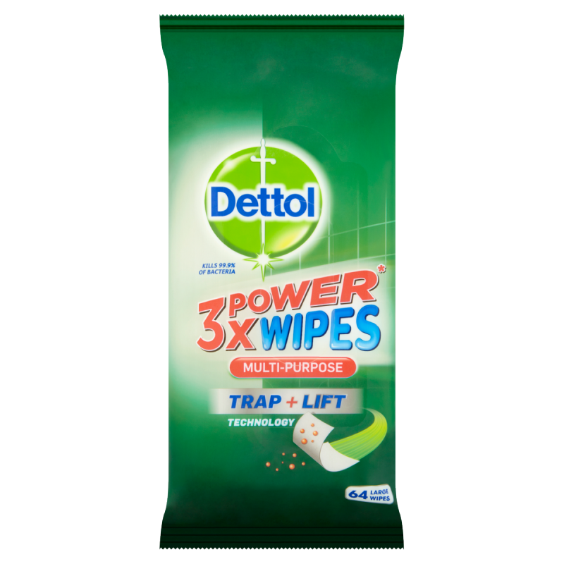 Dettol 3X Power Multi-Purpose Wipes