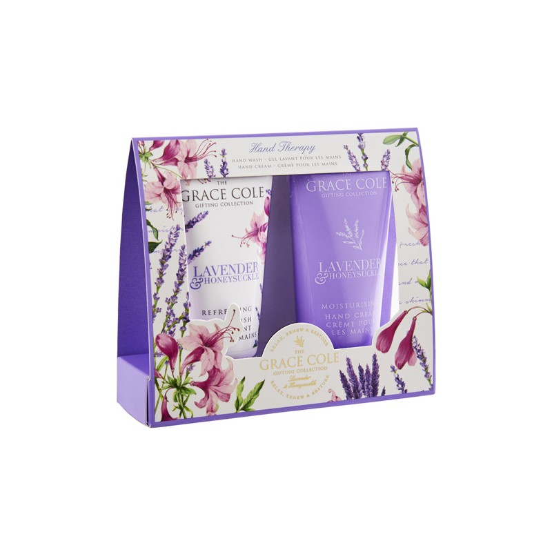 Grace Cole Lavender & Honeysuckle Hand Therapy Set