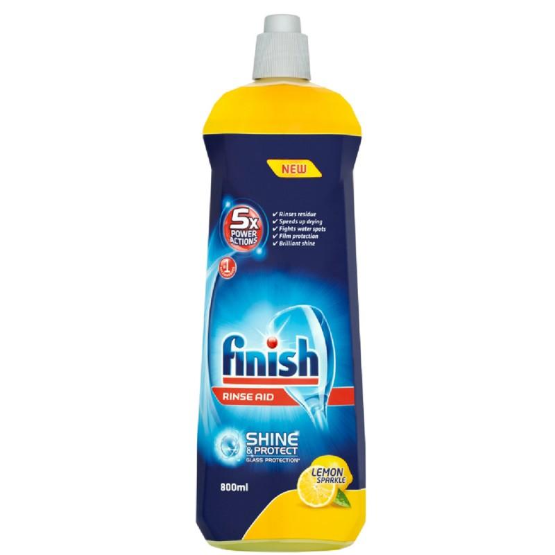 Finish Rinse Aid Lemon