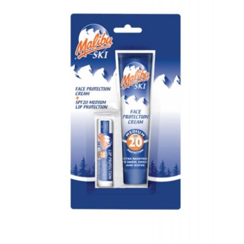 Malibu Ski Face & Lip Protection SPF20
