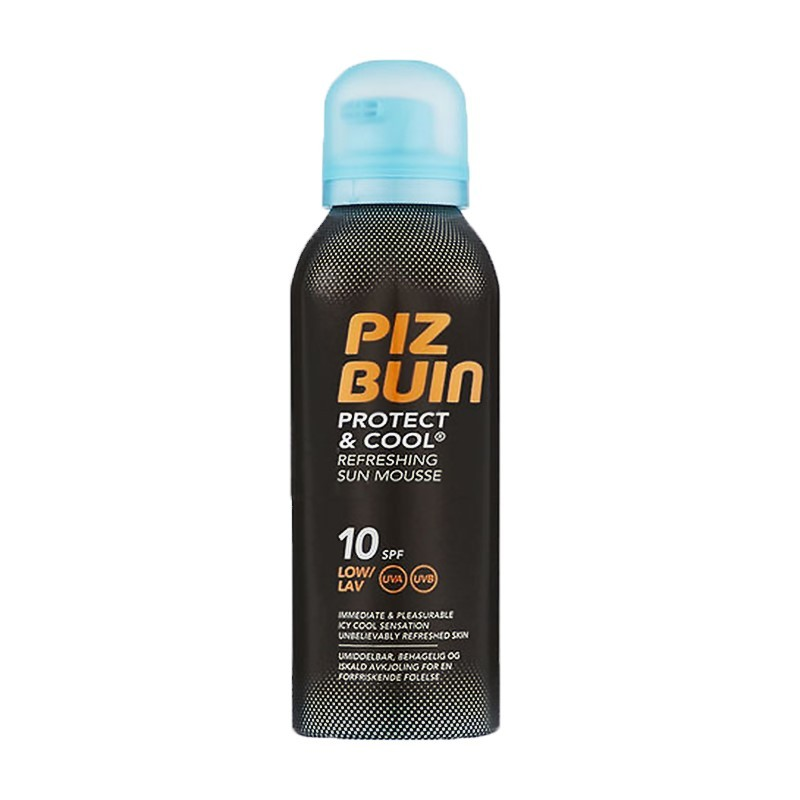 Piz Buin Protect & Cool Sun Mousse SPF10