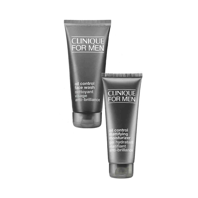 Clinique Men Cleanse & Hydrate Oily Skin Set