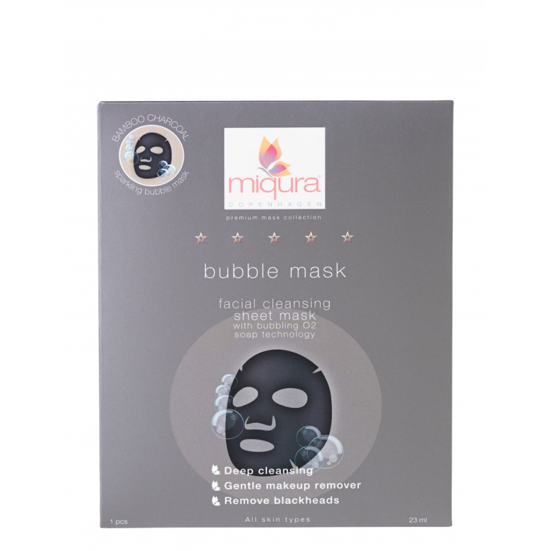 Miqura Charcoal Bubble Mask