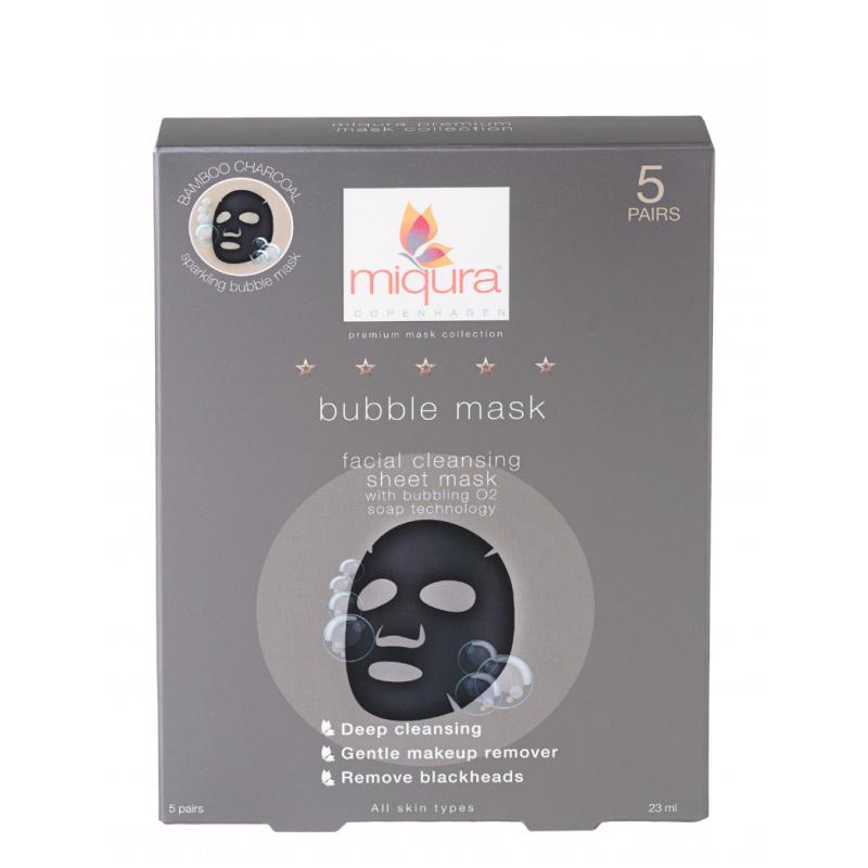 Miqura Charcoal Bubble Mask