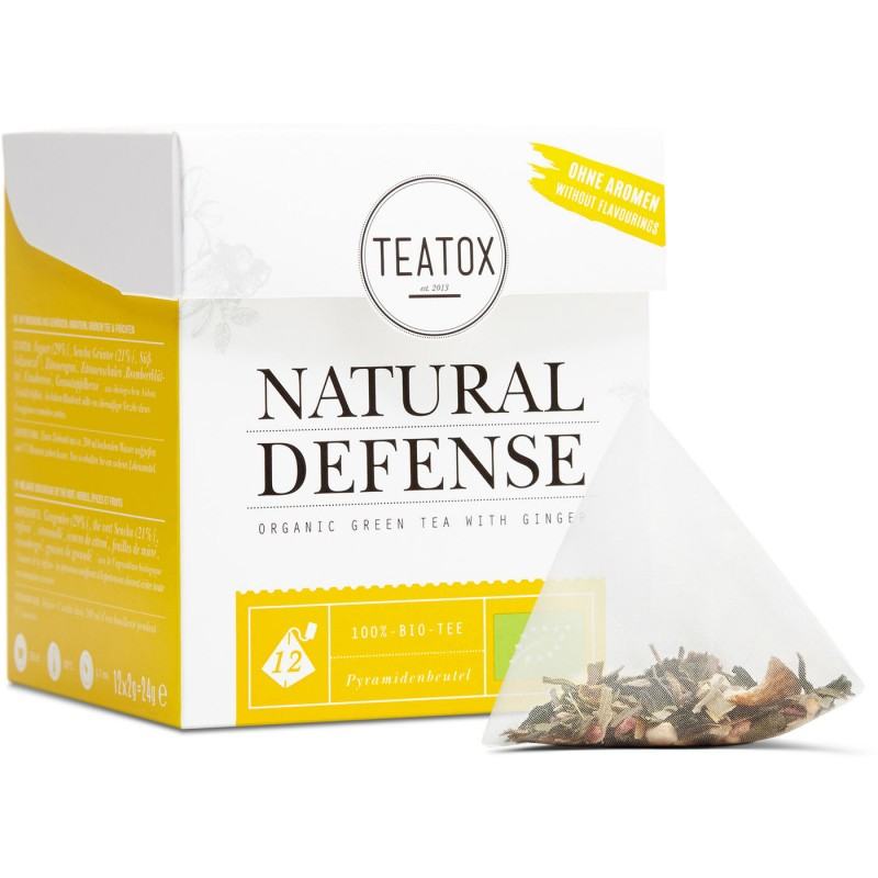 Teatox  Natural Defense Organic Green Tea